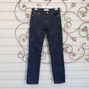 Madewell Alley Straight Leg Drk Indigo Jeans Sz 26
